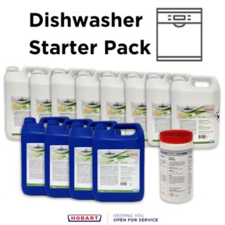 Hyline Diswasher Starter Pack Bundle for commercial dishwashers