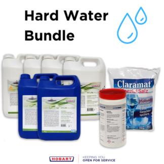 Hyline Hard Water Detergent Bundle for commercial dishwashers