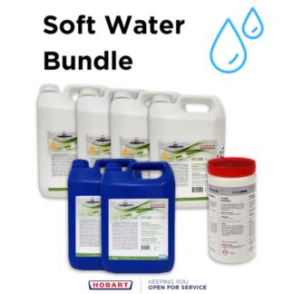 Hyline Soft Water Detergent Bundle for commercial dishwashers